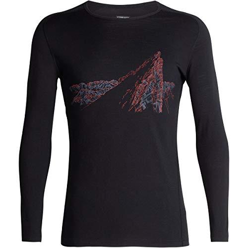 Icebreaker 200 Oasis Deluxe Raglan Longsleeve Crewe La Meije Shirt Men - Merino Shirt