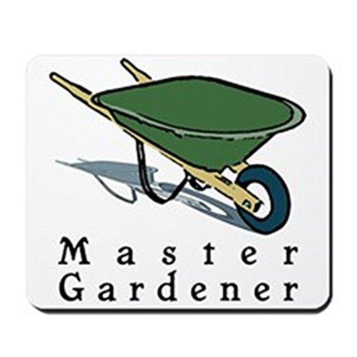 CafePress–Master Gärtner–rutschfeste Gummi Mauspad, Gaming Maus Pad (Ernte Neuheit)
