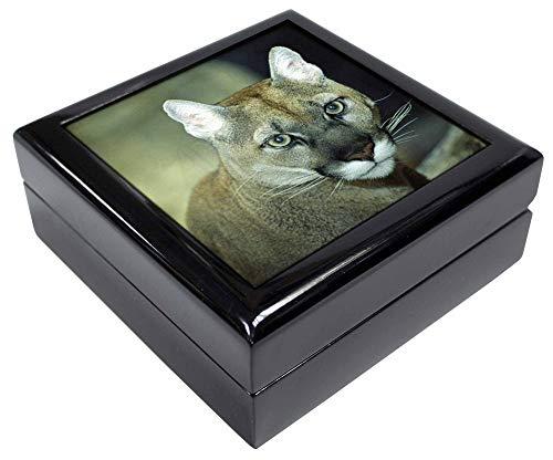 Advanta - Jewellery Boxes Atemberaubende Big Cat Cougar Andenken/Schmuck Box Weihnachten Geschenk -