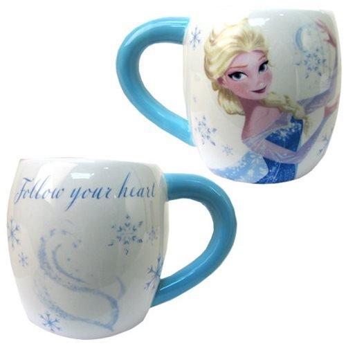 Westland Giftware Elsa Ceramic Mug, 14 oz, Multicolor (Elsa Becher 14 Oz)