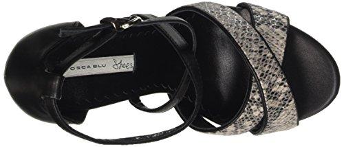 Tosca Blu - Turchese, Scarpe col tacco con cinturino a T Donna Nero (Schwarz (NERO C99))
