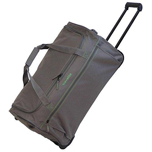 Travelite Basics Rollenreisetasche M 68 cm, grau