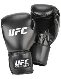 UFC Handschützer Bag Gloves - Vendaje para las manos de artes marciales ( 12 oz, guantes de boxeo, 16 onzas (453 g) ) , color negro, talla Talla única