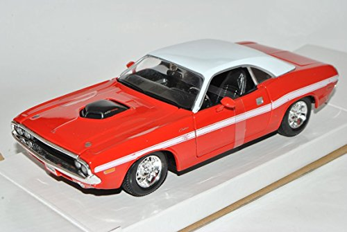 dodge-challenger-r-t-coupe-1970-rot-1-24-maisto-modell-auto