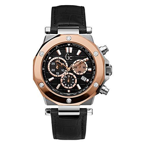 Guess X72005G2S - Reloj para Hombres, Correa de Cuero Color Negro