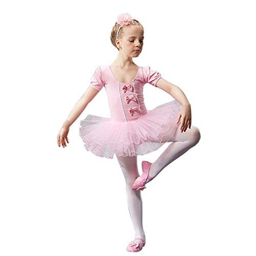 Gymnastik Ballett Rock Tutu Tanz Zubehör Ballett Supply Kostüme für Mädchen, B