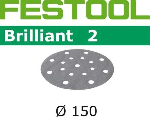 Preisvergleich Produktbild 100x Festool Schleifscheiben STF D150 / 16 P180 BR2 / 100 Brilliant 2