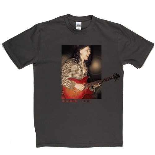 Robben Ford American Blues Jazz Rock Guitarist Musician T-shirt Grau