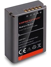 Expresstech @ Reemplazo batería BLN-1 BLN1 1220mAh para Olympus M4/3 OM-D E-M5 II OM-D E-M5 EP-5 OM-D EM-1 EM5 II EM1 EP5 PENF PEN-F