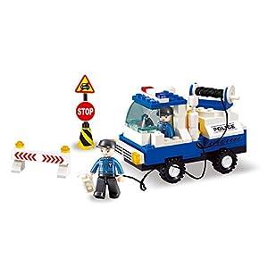 SLUBAN BRICKS, Town Policía Civil Juegos de construcción (AJ 1)