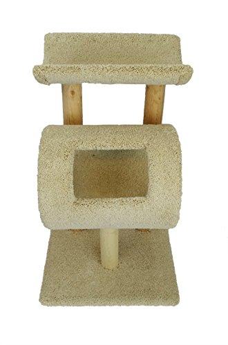 New Katze Eigentumswohnungen 110196-beige Kitty Cat Tree, groß