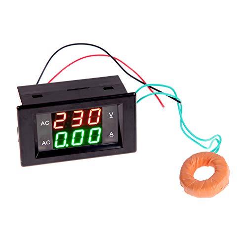 Broadroot AC Dual Display LCD 300 V 10A Voltmeter Amperemeter Digital LED Volt Amp Meter 110 V 220 V - Ac Voltmeter