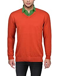 Orange Mens Sweaters Buy Orange Mens Sweaters Online At Best