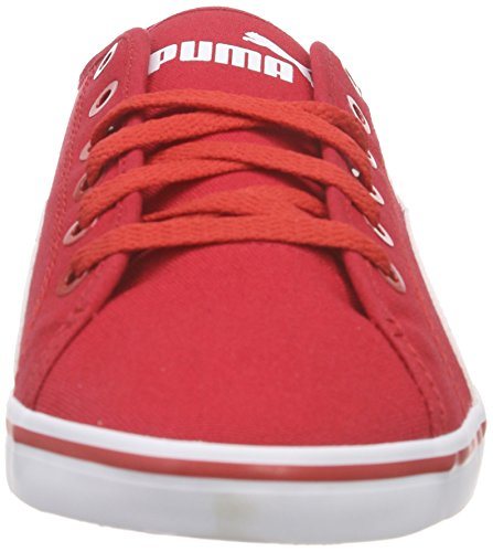 Puma Elsu V2 Cv, Sneakers basses mixte adulte Rouge (high risk red-white 04)