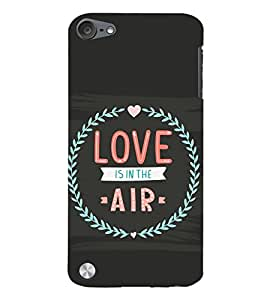 99Sublimation love is in the air 3D Hard Polycarbonate Back Case Cover for Apple iPod Touch 6