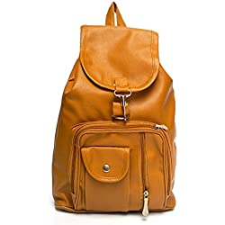Vintage Stylish Girls School bag College Bag (In Four Colors)(bag r 124) (Golden)
