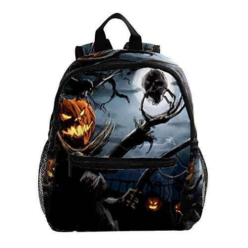 Halloween Kinder Rucksack Leichte Schultasche Voller Druck Für Vorschulkind 3-8 Jahre Baby Tasche Windel Milchpulver Rucksack 25.4x10x30 cm