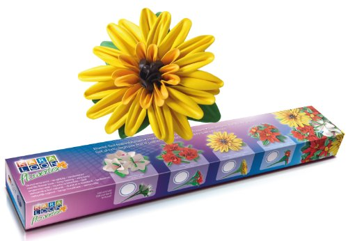 telset Flowertex Sonnenblume, 161-teilig, gelb ()
