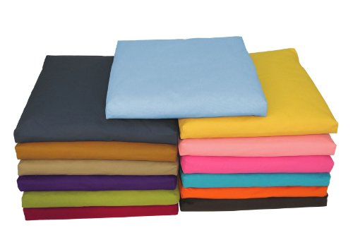 Bean Products zabuton Yoga méditation Coussins Coton Made in USA