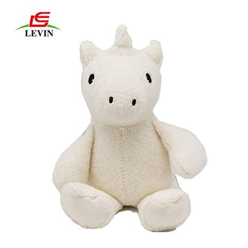 Peluche Orgánico Unicornio Peluche Bebé Aro Madera