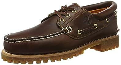 Timberland Heritage 3-Eye Classic Lug Herren Bootsschuhe, Braun (Brown Pull Up), 39.5 EU