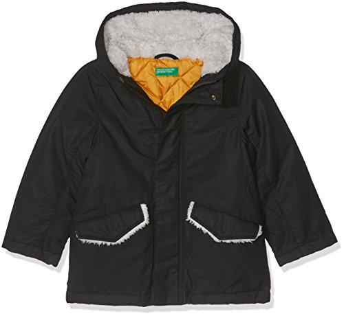 United Colors of Benetton Jacket, Chaqueta para Niños, Negro Black 100, 11-12 años/160 Manufacturer...