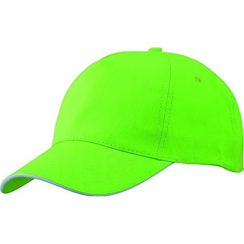 Cappello Sandwich Baseball con piastra curva e velcro Uomini Donne Basecap schienale regolabile - Lima Cappello