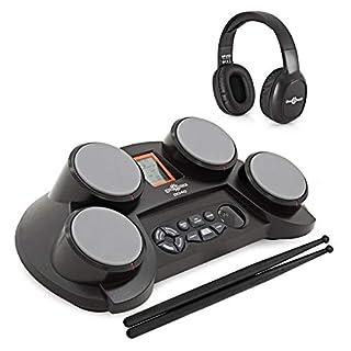 DD40 E-Drum-Pads von Gear4music mit Zubehör