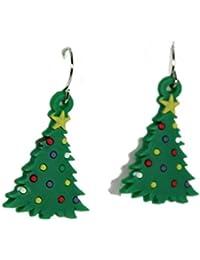 Motif Arbre de Noël Nouveauté Boucles d'oreilles Fashion