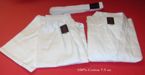 Karate Suit With Free Belt, Martial Arts Uniform