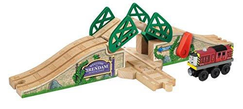 Mattel Fisher-Price Y7465 - Thomas und seine Freunde Zugbrücke inklusive Salty-Lok