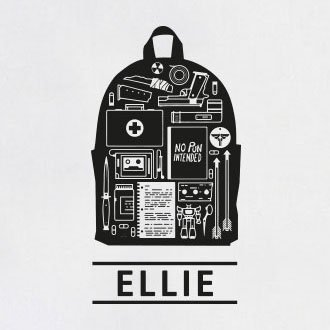 TEXLAB - Ellie: The Last - Stoffbeutel Schwarz