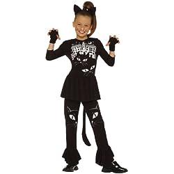 César G731 - Disfraz de gata para niña (5 años) (talla 116)