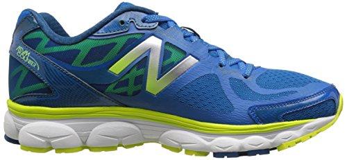 New Balance M1080 D V5, Chaussures de running homme Bleu (By5 Blue/Yellow)