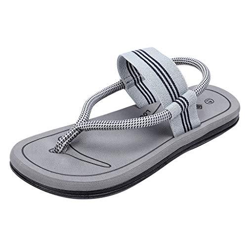 SANFASHION Ladies Estate Confortevole Moda Scarpe da Spiaggia Casual Ultime Slip Comfort Pizzico Infradito Slip Moda Uomo Sandali Moda Uomo e Donna Sandali Amanti Scarpe