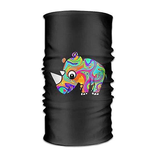 Voxpkrs Rhinoceros Unisex Sport Scarf Stirnbands Bandana Outdoor Sweatband Headwear -