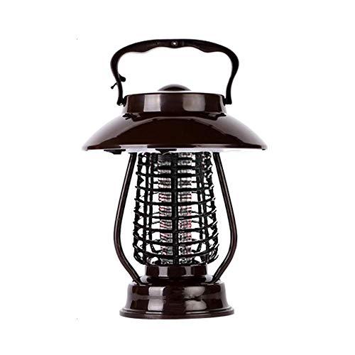 CXHMY Solar Mosquito Killer, Home Outdoor Impermeable Automático Garden Light Garden Repelente de Mosquitos Artefacto para atrapar Insectos (Color: Negro, tamaño: sección Interior)
