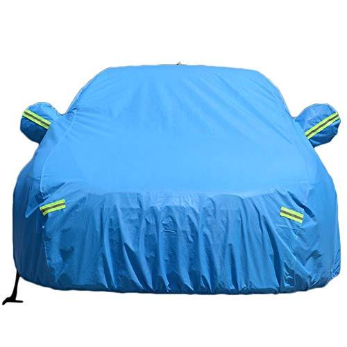 Universal Verdickung große Auto Abdeckung Indoor Outdoor gegen Sonne Regen Staub UV Strahlen schützende atmungsaktiv Beflockung Auto Abdeckung
