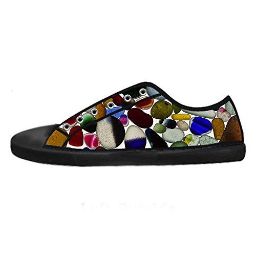 Dalliy Pebble Men's Canvas shoes Schuhe Lace-up High-top Sneakers Segeltuchschuhe Leinwand-Schuh-Turnschuhe C