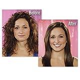 Horizon_Enterprise Professional Electric Hair Straightener Brush with Temperature Control and Digital Display Brush For Women