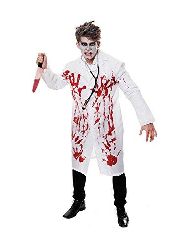 Or Trick Kostüm Treat Babys - Henbrandt Blutiger Doktor Kostüm Verkleidung Erwachsene