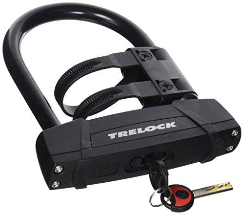 Trelock Bügelschloss BS 650-108-140 ZB 401, schwarz, 15x8x6cm