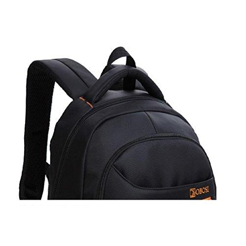 Z&N Backpack 27L Capacità Borsa A Tracolla Multifunzionale Per Il Tempo Libero Zaino Unisex Laptop Sport Di Alta Qualità Ciclismo Festa Zaino Da Montagna Sacchetto Stoccaggio black 27L Black