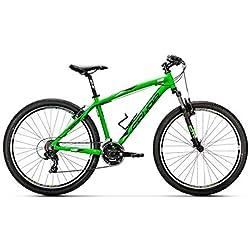 "Conor 5400 27.5"" - Bicicleta Unisex Adulto, Verde, LA"