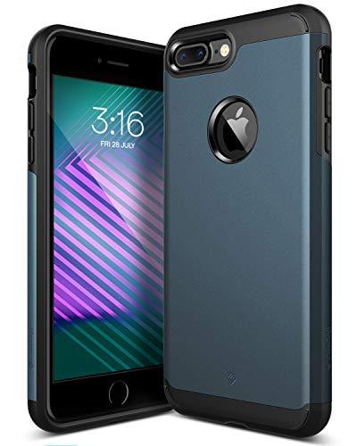 Caseology iPhone 7 Plus Hülle, [Titan Serie] Starker Schutz Schlank Robuste Doppelte Schutzschict [Deep Navy Blau - Deep Blue] fur Apple iPhone 7 Plus (2016) Only