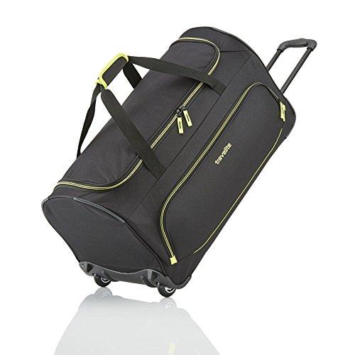 travelite BASICS, 36 cm, Reisetasche, 2 Rollen, schwarz, 2 Rollen - (96277-01)