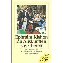 Zu Auskünften stets bereit: Auswahl aus Kishons besten Geschichten (insel taschenbuch)