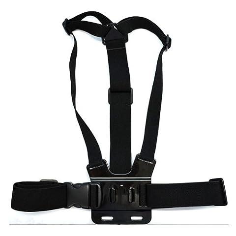HuntGold Imperméable à l'eau gopro harnais de poitrine et autres accessoires pour Gopro Hero 1/2/3/3