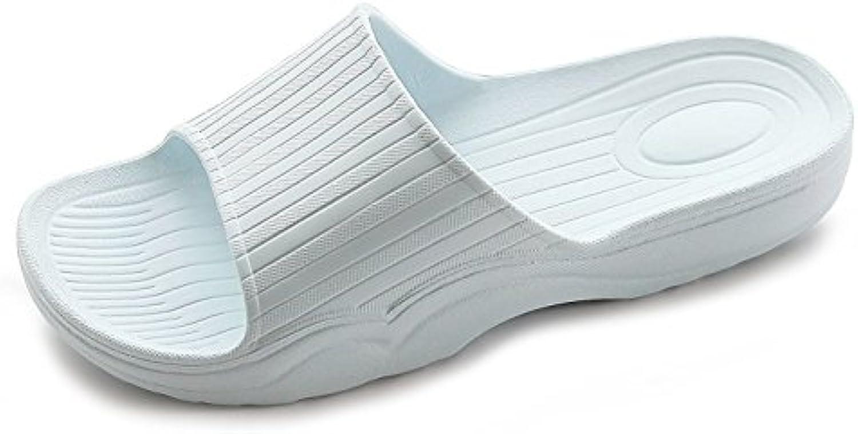 Auspicious beginning Zapatillas de interior cómodas sandalias de color sólido para adultos