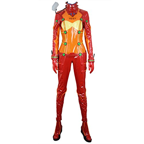 Eva:2.0 You Can (Not) Advance Asuka Langley Soryu Testing Driving Suits (Asuka Langley Soryu Cosplay Kostüm)
